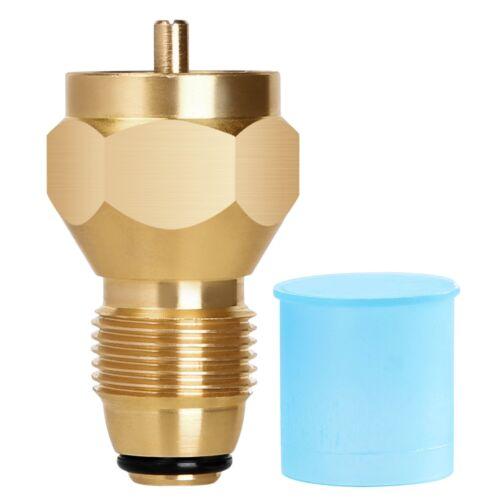 Propane Refill Adapter Lp Gas 1 Lb Cylinder Tank Coupler Heater Bottles Brass