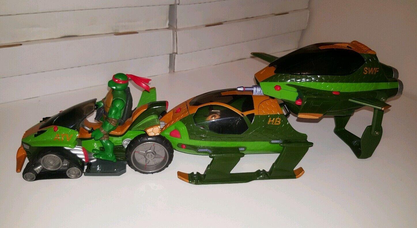 Teenage Mutant Ninja Turtles Shell delantero, ATV SWF HB (Playmates, 2005)