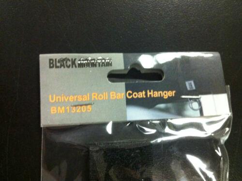 Black Mountain Jeep Universal Roll Bar Coat Hangers BM13205