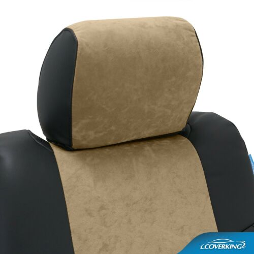 Coverking Custom Seat Covers Ultisuede Front Row 4 Color Options