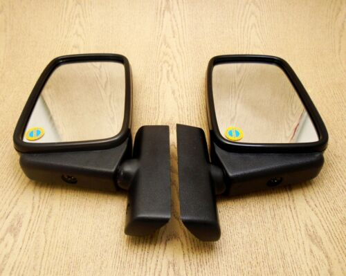 Chevrolet Camaro 1967 1968 1969 Pair Door Mirror Black Bullet Custom Retro