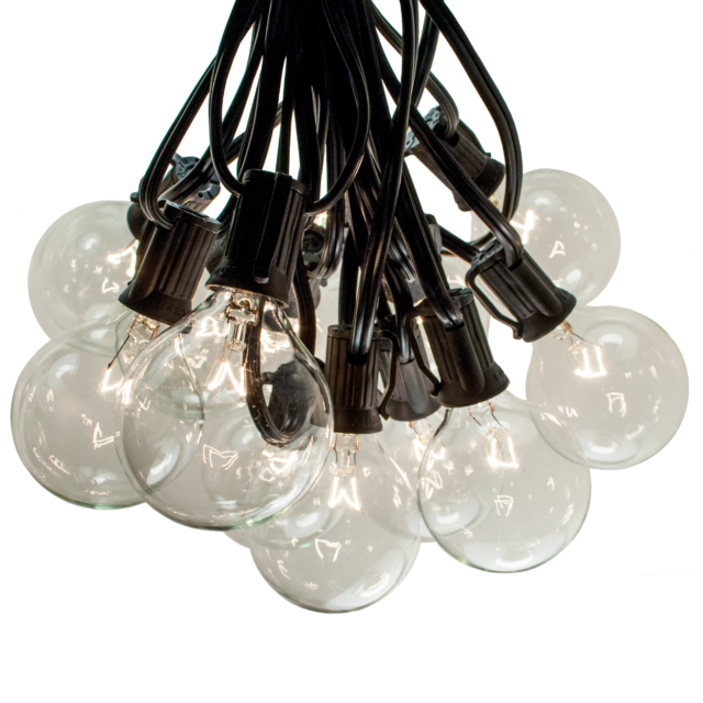 Opalhouse 10ct Spiral Filament Outdoor, Clear Patio String Lights