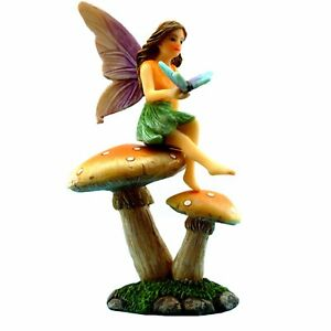 Fairy-Garden-Ornaments-amp-Accessories-Mushroom-Stand-by-Pretmanns