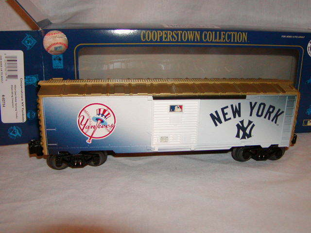 Lionel 6-82734 New York Yankees Box voiture O-27 2015 Cooperstown Sammlung MIB New