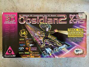 Boxed-Quantum-3d-Obsidian-2-x-24-3dfx-Voodoo-2-SLI-auf-einer-Karte-selten