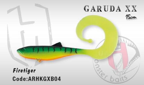 Italien conçu Héraclès COLMIC plastique souple Garuda XX shad grub 15 cm 8 Couleurs