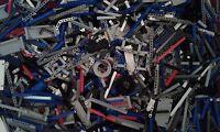 Lego Technic 1000 + Genuine Mixed Spare Part's Job Lot