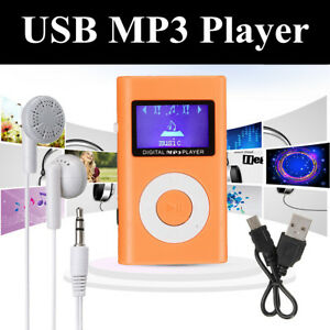 Mini-USB-MP3-Reproductor-Musica-FM-Lector-Soporte-32GB-Micro-SD-TF-Auriculares