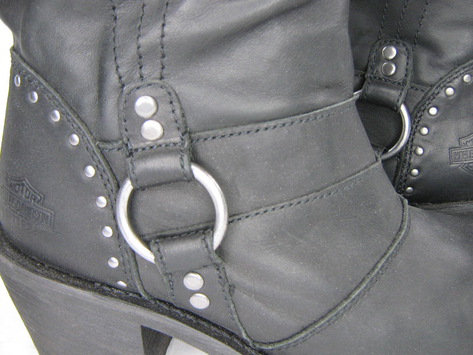 lo stile classico donna harley davidson leather stivali 5.5 nero nero nero Jana D83562 11.5  pull on zip up  solo per te