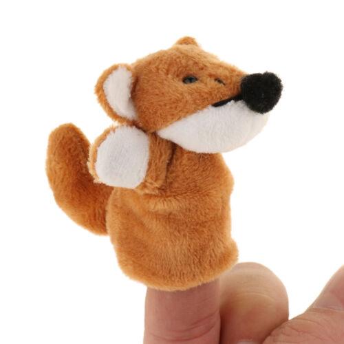 Kinder Fingerpuppen Kasperpuppen Entwicklung Spielzeug mit Fuchs und Huhn