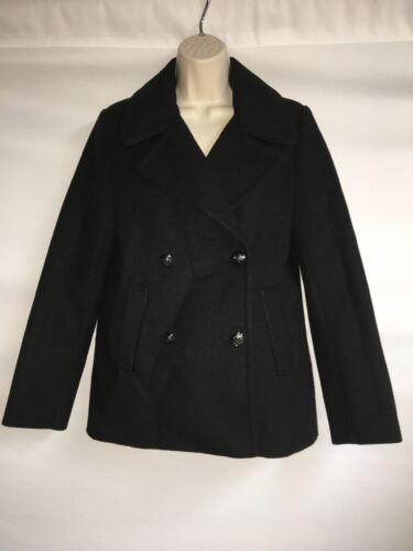 Xs Nwt donna Cappotto 128 Peacoat Express Black da Womens O4Pq0wXp