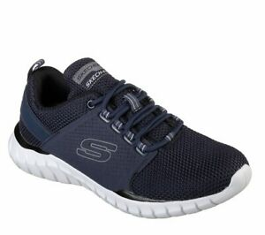 Skechers-Navy-shoes-Men-039-s-Memory-Foam-Sport-Comfort-Casual-Walk-Train-Mesh-52821