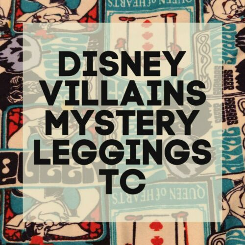 Lularoe DISNEY VILLAINS MYSTERY Leggings TC