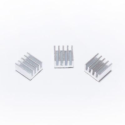 4 x Kühlkörper 9 x 9 x 5mm - Heat Sink A4988 83 Stepper Driver - CNC / RepRap