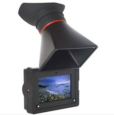 Feelworld E350 Electronic View Finder HD HDMI Camera Monitor LCD For BMPCC,GH4
