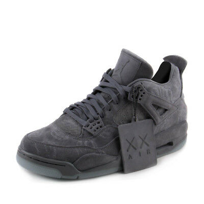 official photos f940d f1816 Nike Mens Air Jordan 4 Retro KAWS Cool Grey/White 930155-003 | eBay