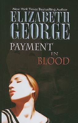 Payment in Blood (Thorndike Famous Authors), George, Elizabeth A., Used; Good Bo
