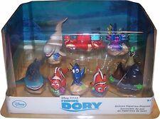 DISNEY FINDET DORIE 9-teiliges Figurenset aus Kunststoff in schöner Diorama-Box