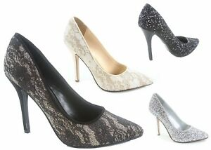 NEW-Women-039-s-Pointy-Toe-Slip-On-Stiletto-High-Heels-Pumps-Shoes-Size-5-10