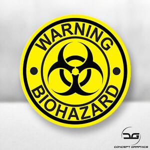 Warning-Biohazard-Funny-Laptop-Skateboard-JDM-Euro-DUB-Car-Vinyl-Decal-Sticker