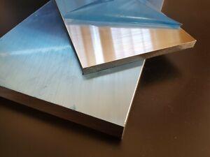Aluminium plate//sheet EN-AW 6082 15mm 20mm 25mm