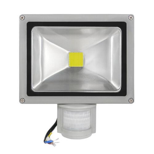 2x COB LED Flutlichtstrahler LED Scheinwerfer LED Fluter 30 Watt KW 180° PIR