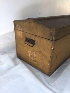 vintage trunk painted metal steamer trunk storage