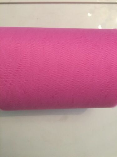 """!SPECIAL OFFER 2m METRE 6/"""" WIDE PLAIN TUTU DRESS TULLE  NET MATERIAL ONLY 99P"""