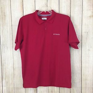 95d929e54f5 Columbia Omni Shade Sun Protection Men's Polo/Golf Shirt Size Large ...
