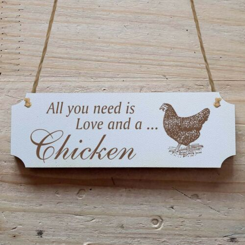 Türschild Dekoschild « Chicken 05 » Huhn Hühnerstall Ei Vogel Eier