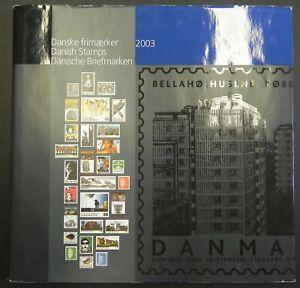 Jaarboek 2003 Denmark year book Dänemark Jahrbuch Danemark Livres des timbres 03