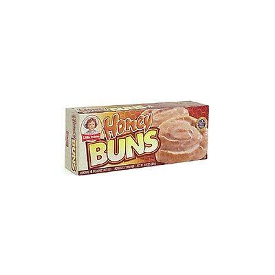 Little Debbie Honey Buns Pastries Snacks 6 Pastries 10.6oz Box