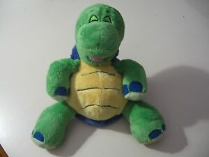 """9"""" plush bean bag Turtle doll, made by Luv n' Care, good condition"""