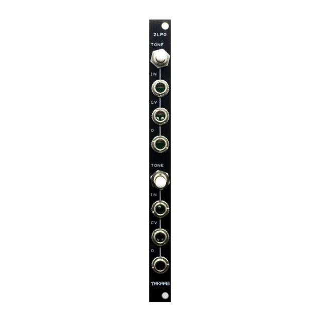 TAKAAB 2LPG v2 - Dual Passive Low-pass Gate Eurorack Synthesizer Module (2HP)