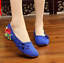 Chinese-Embroidered-Floral-Shoes-Women-Ballerina-Flat-Ballet-Cotton-Loafer-snug thumbnail 47