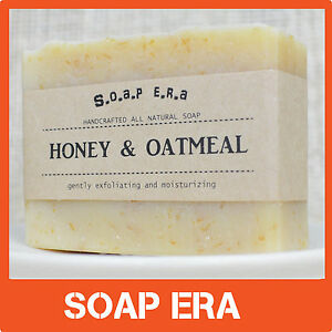 1x-Honey-Oatmeal-natural-handmade-gently-exfoliating-soap-unscented ...