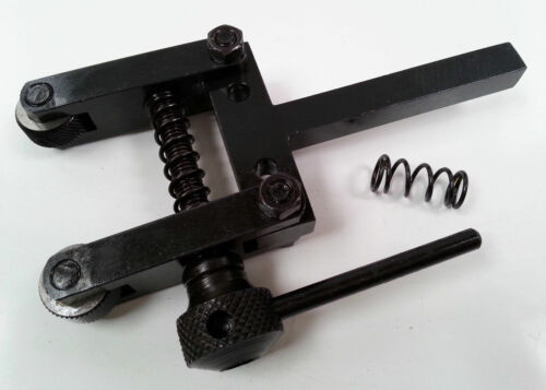 """Amadeal Spring Loaded Clamp Type Knurling Tool 2/"""""""