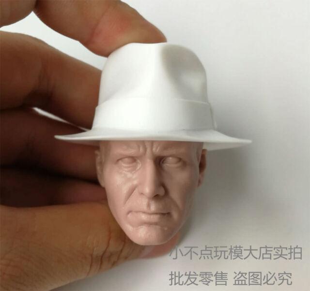 1//6 scale Indiana Jones Harrison Raiders of the Lost Ark head sculpt unpainted A