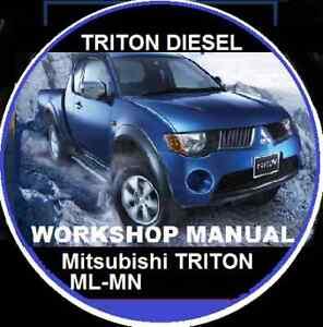 MITSUBISHI-TRITON-MN-ML-4D56-DIESEL-WORKSHOP-REPAIR-MANUAL-CDROM