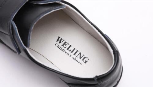 AU SELLER Full Genuine Leather Boys Kids to Adults School Shoes Footwear sh004
