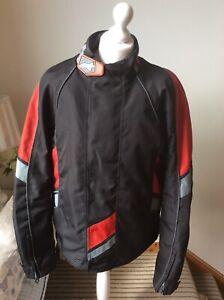 ALPINESTARS-Drystar-Motorcycle-Motorbike-Textile-Jacket-Detachable-Vest-Size-XL