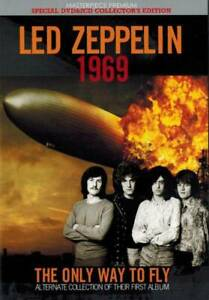 Led-Zeppelin-1969-The-Only-Way-To-Fly-Special-Collector-039-s-Edition-2CD-1DVD-Set
