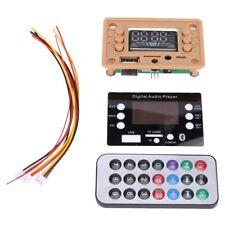 Bluetooth 50 Mp3 Decoder Board Module With Display 12v Car Usb Mp3 Player Wma