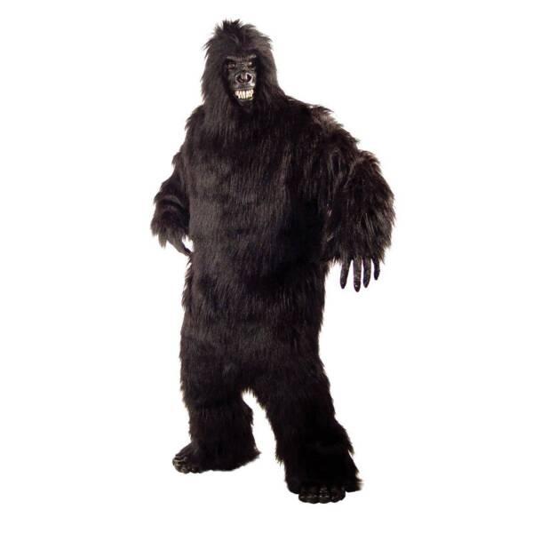 C302 Mens Full Big Foot Gorilla Scary Halloween Adult Fancy Dress Costume