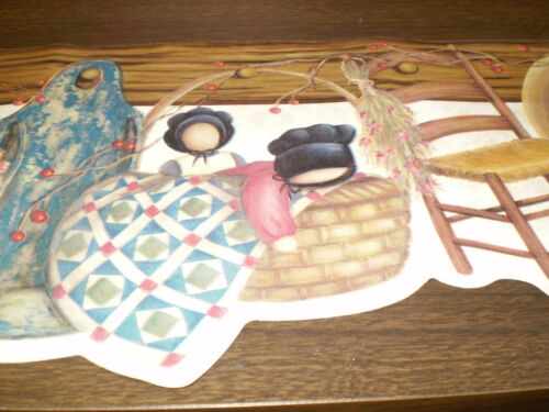 **Bulk Listing** Country Brown Wood Pegboard with Country Items  FP00831B