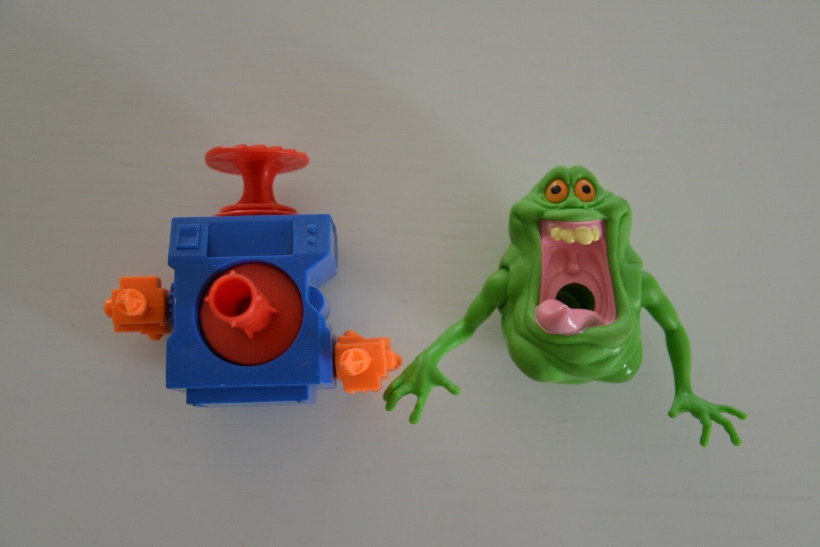 THE REAL GHOSTBUSTERS SLIMER KENNER ACTION FIGURE (RARA)