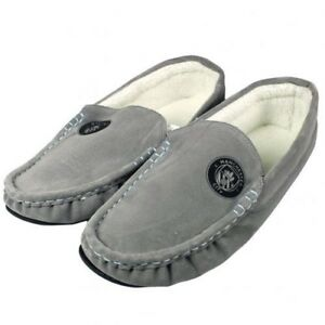 da710f316e1 Image is loading Manchester-City-Football-Club-Mens-Grey-Moccasin-Slippers-