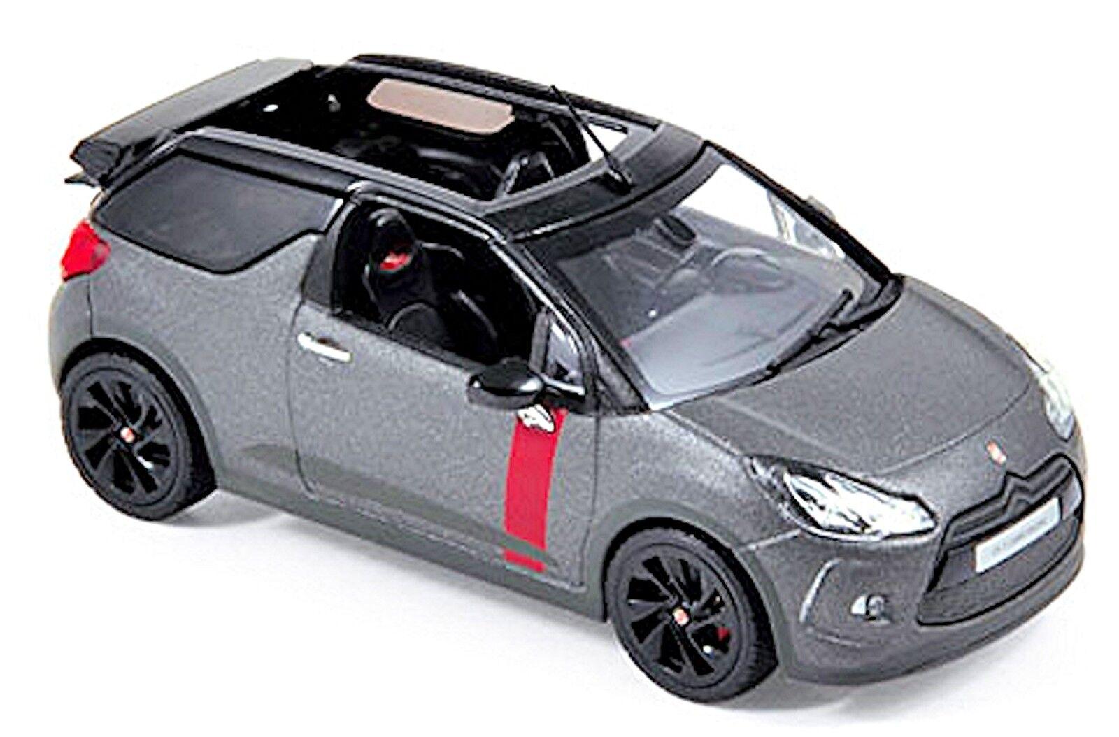 Citroen DS3 Cabrio tävlings 2014 Matt grå matt grå 1 43