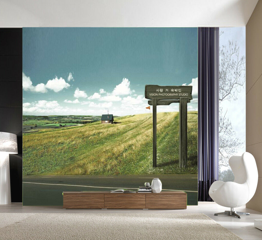 3D Meadow Sky 565 Wallpaper Murals Wall Print Wall Mural AJ WALLPAPER UK Summer