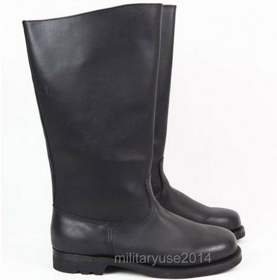 Military WWII German EM Leather Combat Boots In Sizes